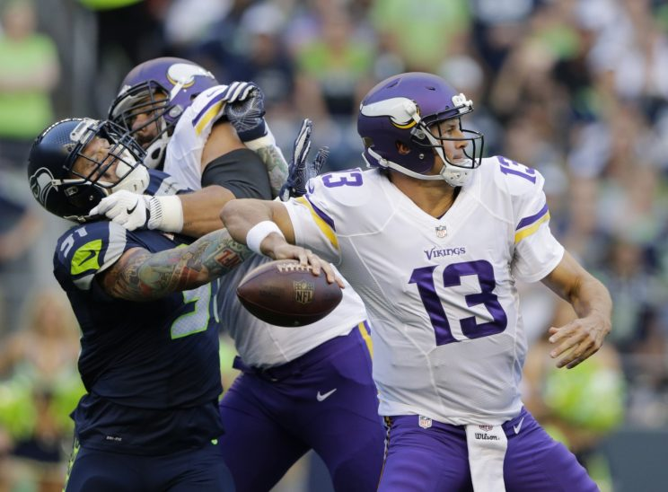 Shaun Hill takes over for Vikings, who don't have many good opt…