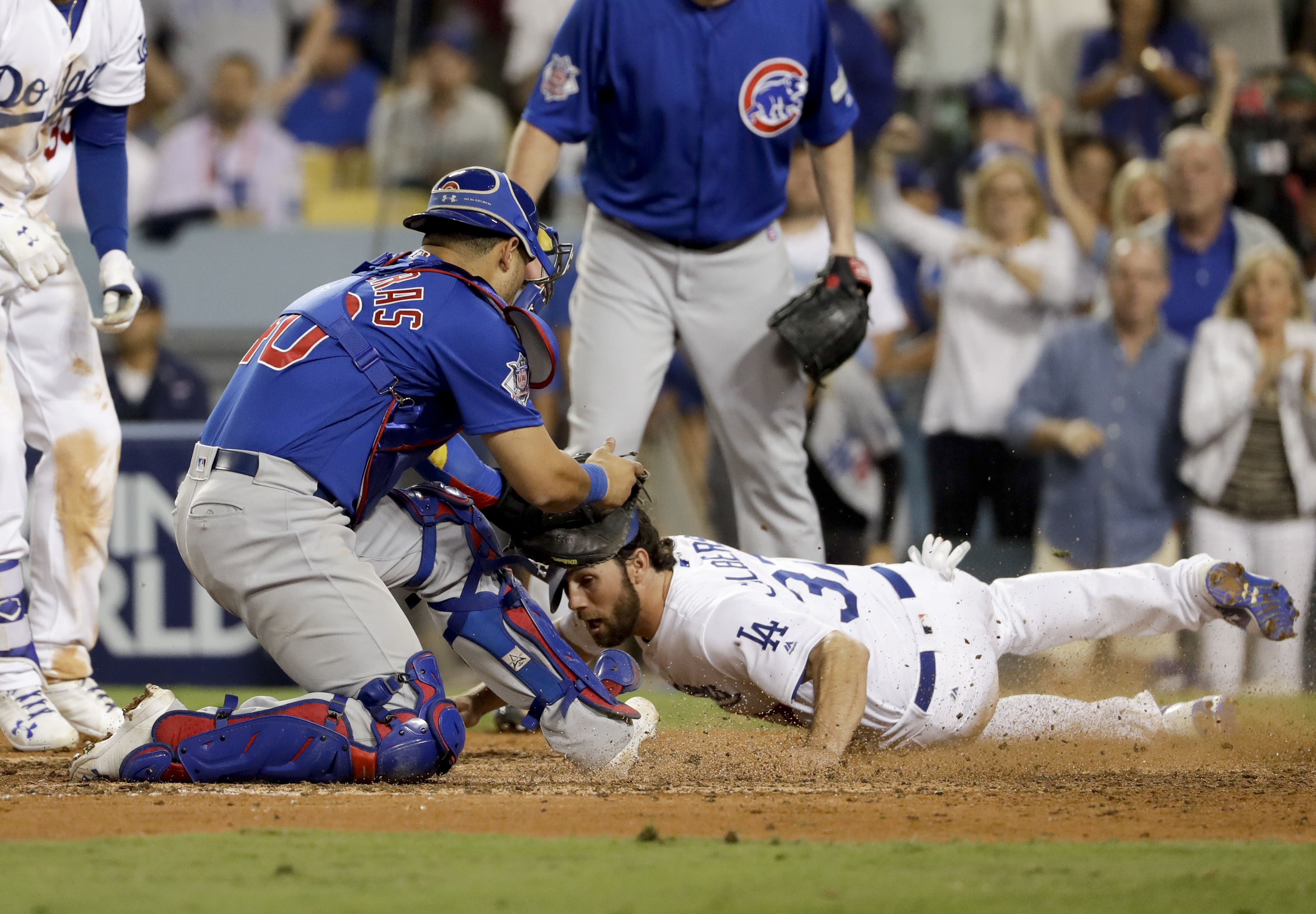 Joe Maddon blows gasket after home-plate collision rule goes against Cubs