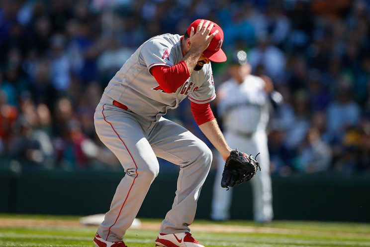 Matt Shoemaker considering protective hat after line-drive inju…