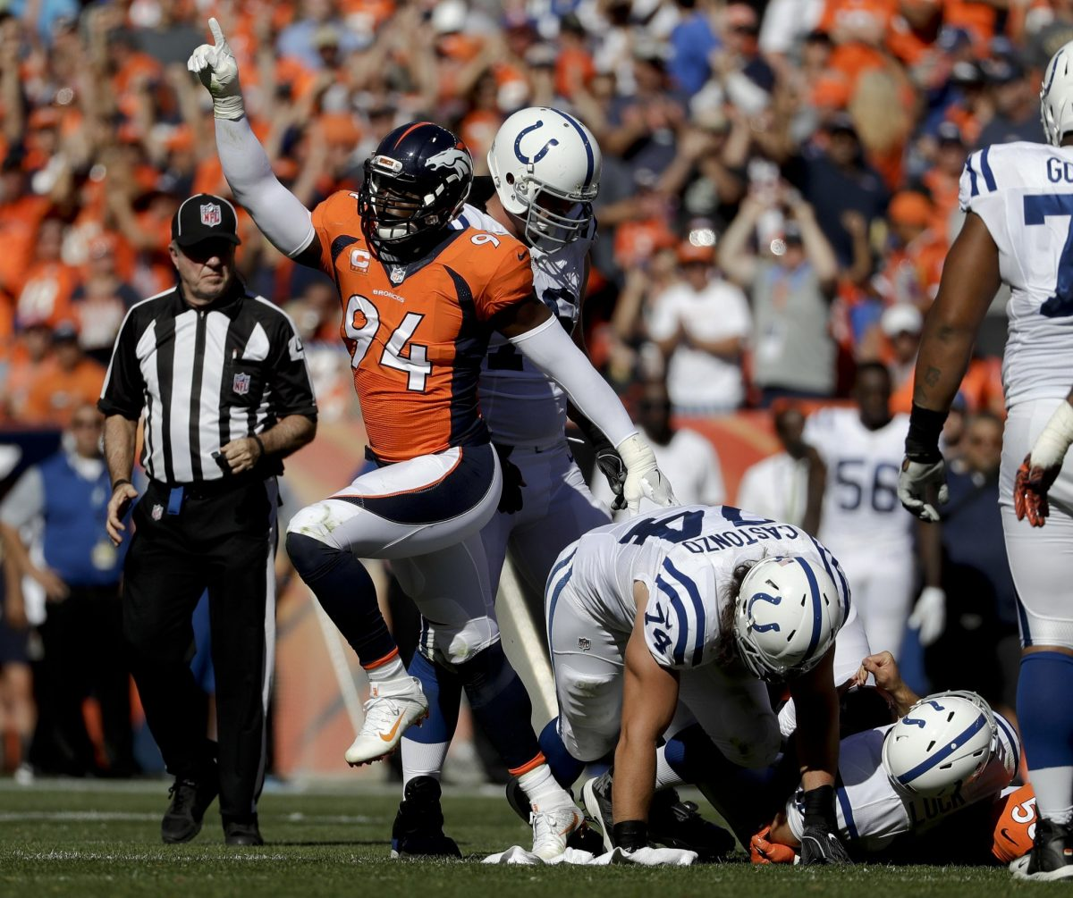 Surgery upcoming on his arm, Broncos will be without DeMarcus W…