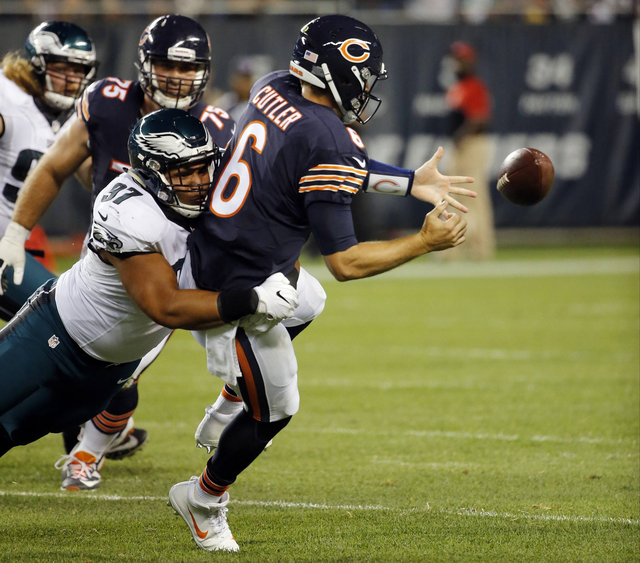Jay Cutler's solid home record vs. Vikings can't cover up Bears…