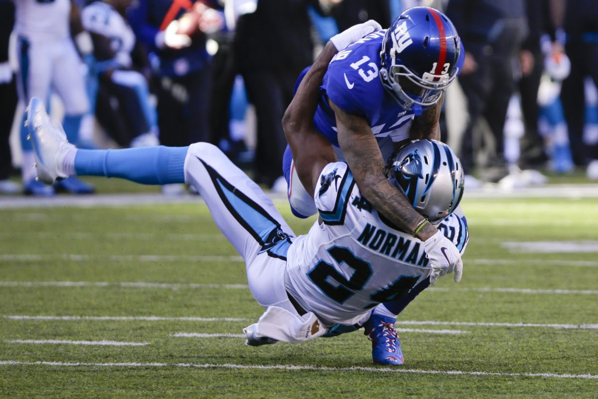 Fined for crack block vs. Saints, Odell Beckham Jr. facing susp…