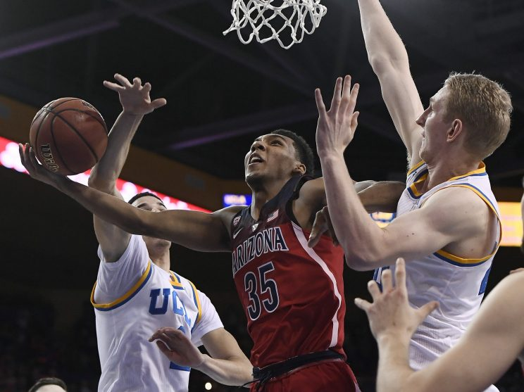 Allonzo Trier and Arizona were the biggest winners of the weekend. (Getty)