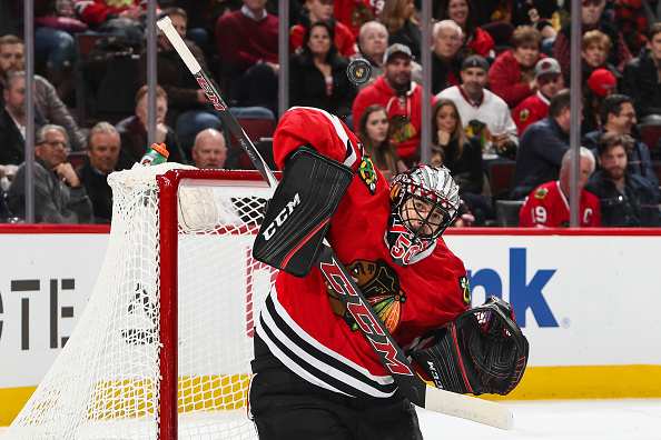 Corey Crawford out 2-3 weeks after appendectomy