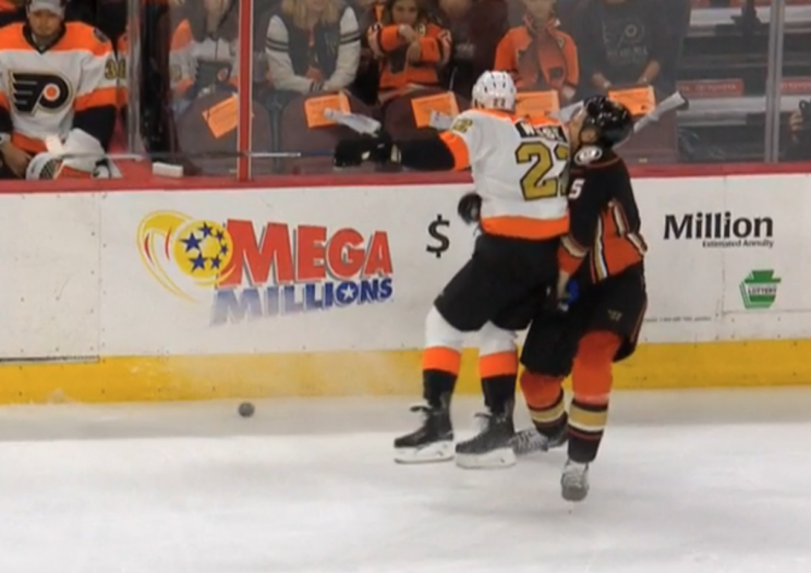 Why Flyers' Dale Weise was suspended three games for Holzer hit