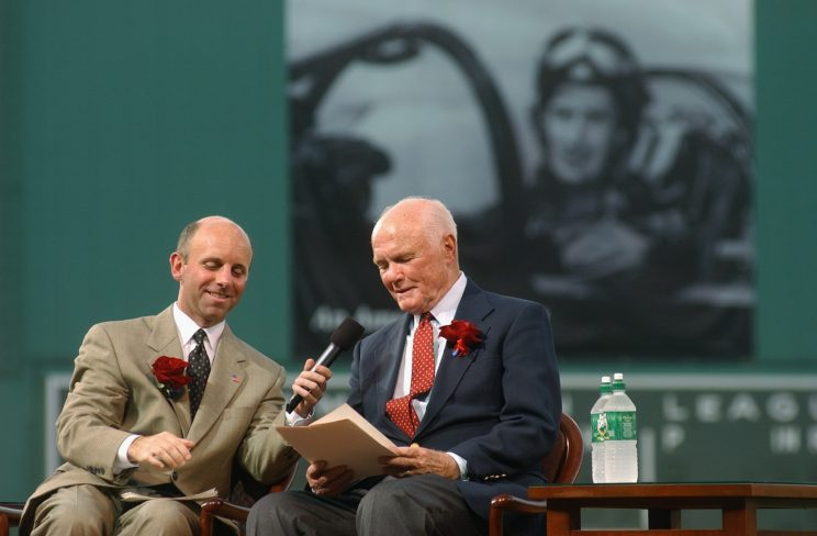 John Glenn had an unbelievable connection with a Red Sox legend