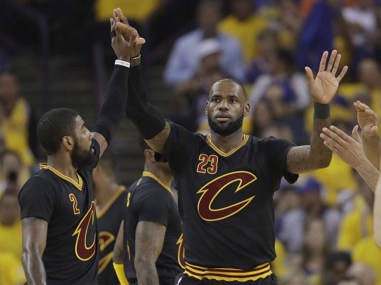 The future of LeBron James looms over every decision the Cavs make. (AP)