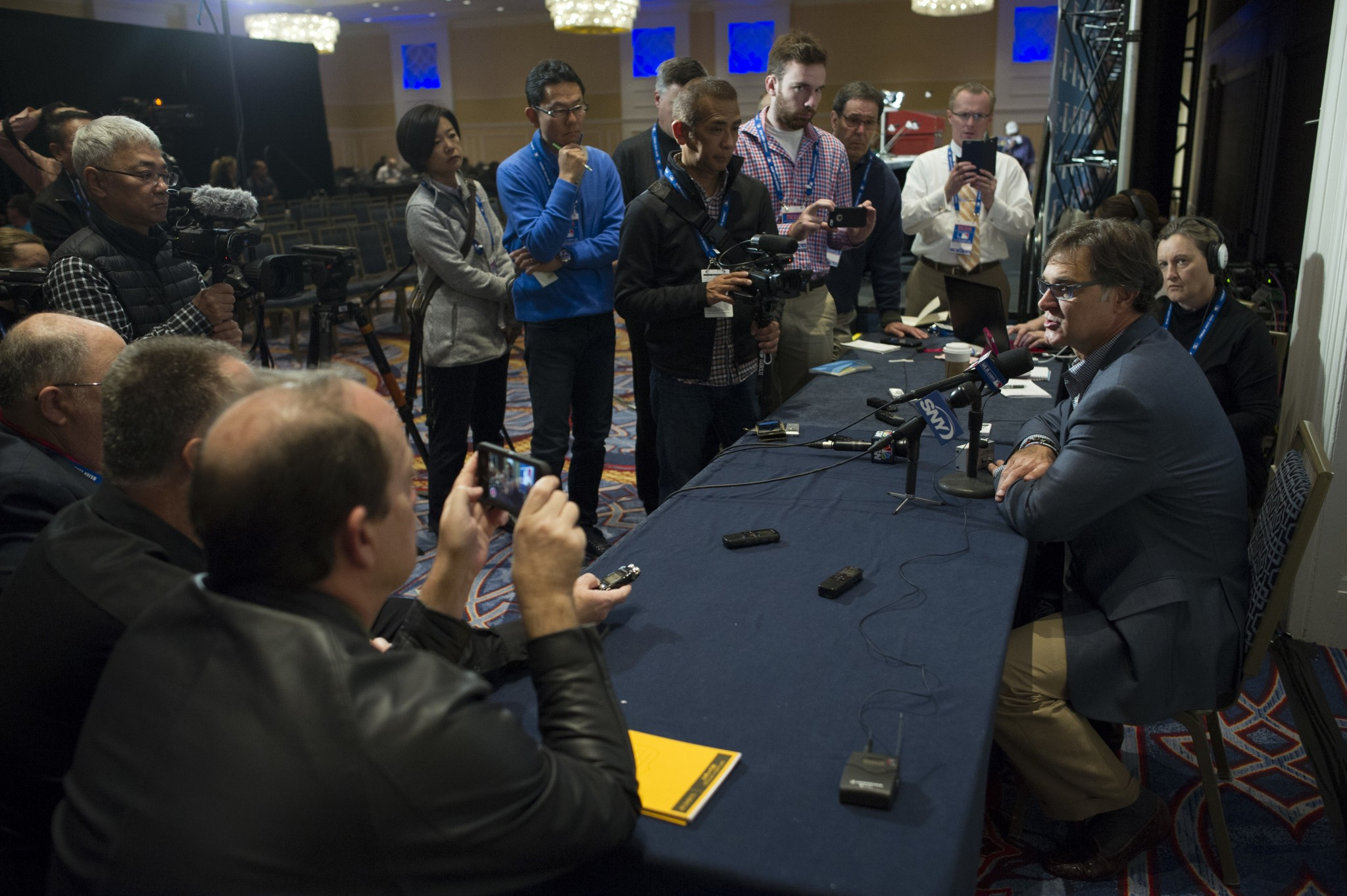 Winter Meetings Journal, Day 3: Time to wrap up that unfinished…