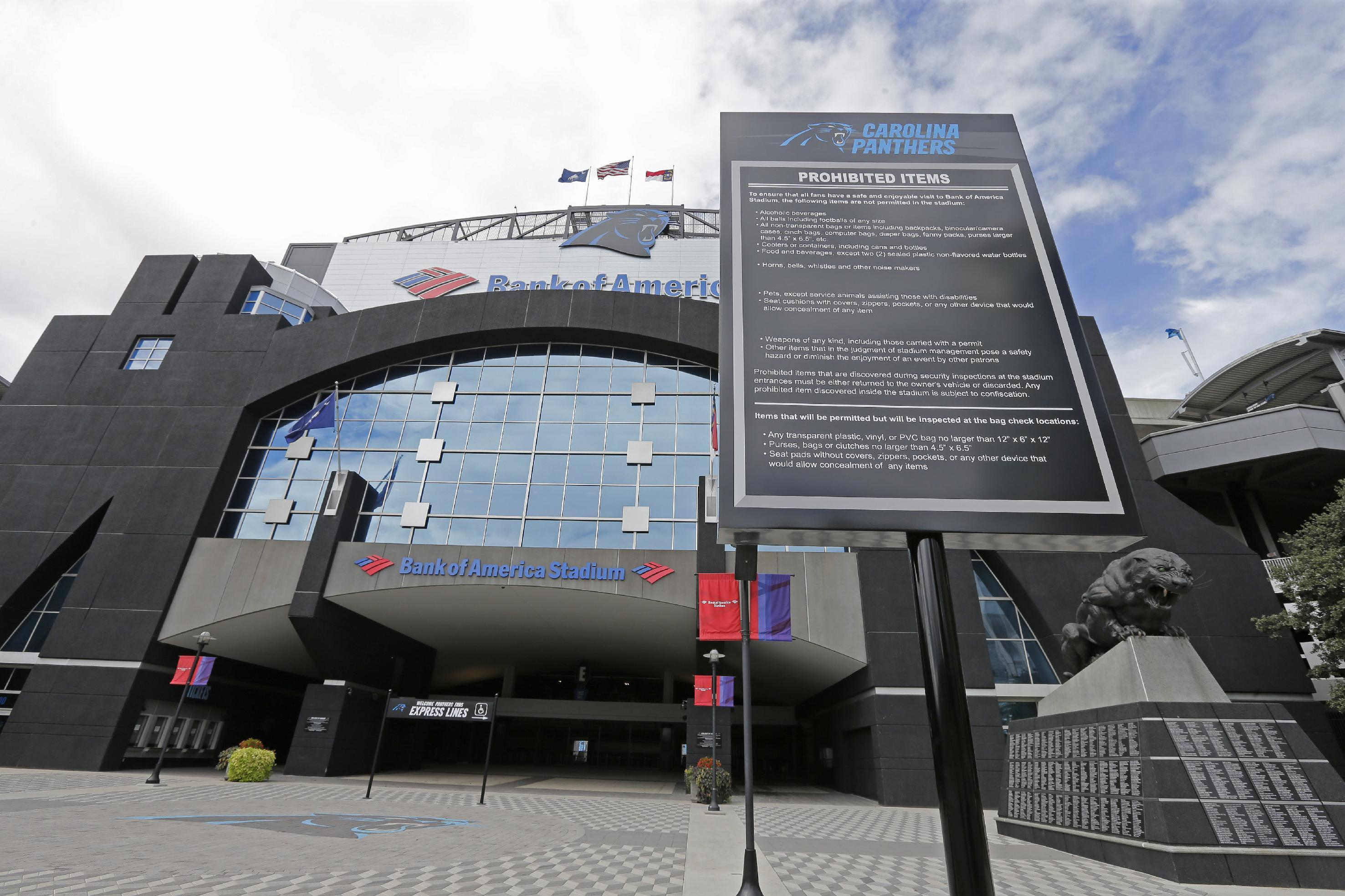 Report: Protesters planning to block entrances at Panthers stadium
