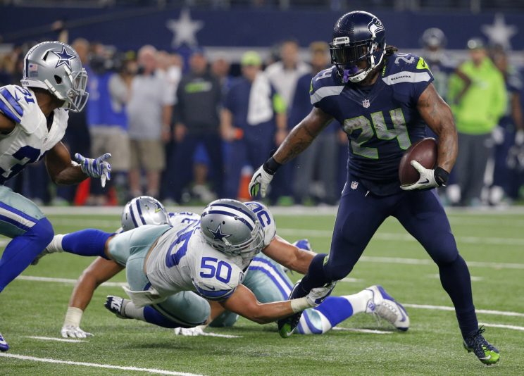 Raiders finally acquire longtime Seahawks running back Marshawn Lynch