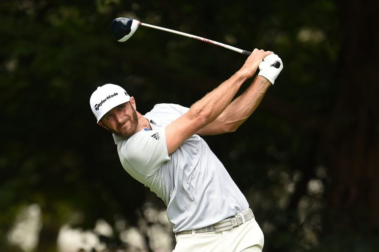 Dustin Johnson is surging again. (Getty Images)