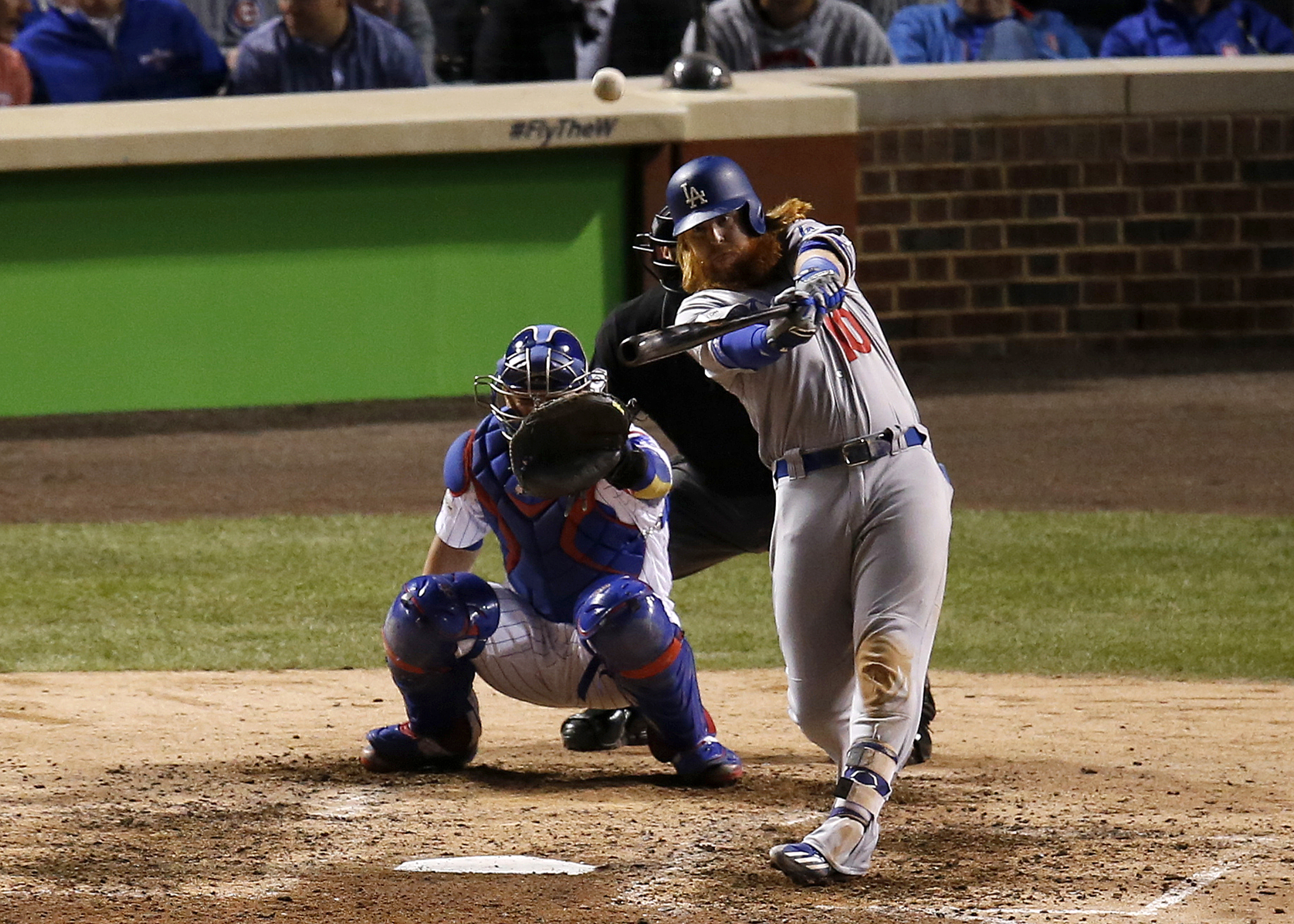 Justin Turner's postseason dominance has surpassed Babe Ruth's in one category