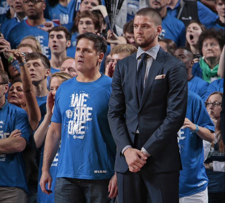 Chandler Parsons once told Mark Cuban of his contract: 'Max or …