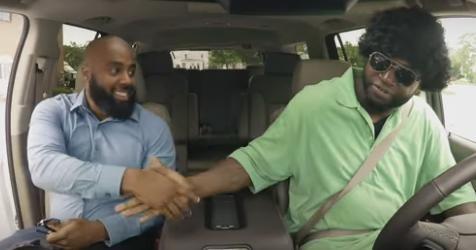 David Ortiz fools fans as undercover Lyft driver in Boston