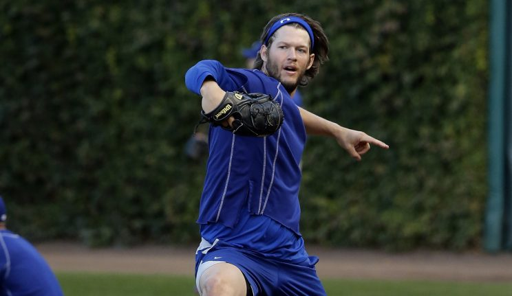 Clayton Kershaw will start Game 2 of the NLCS