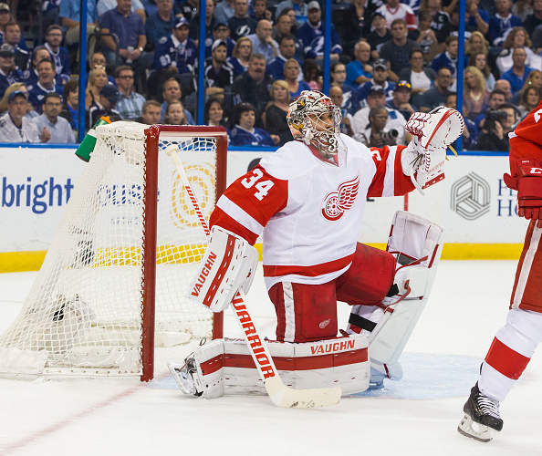 Red Wings sign Petr Mrazek to two-year, $8M contract