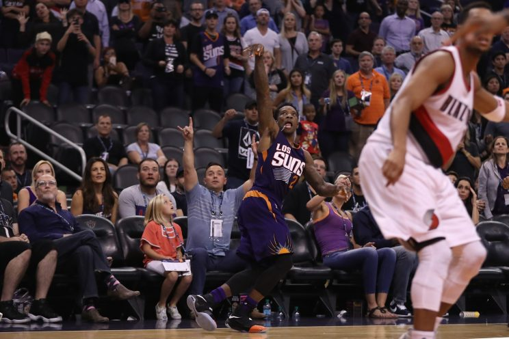 The Blazers and Suns played a great game totally eclipsed by th…