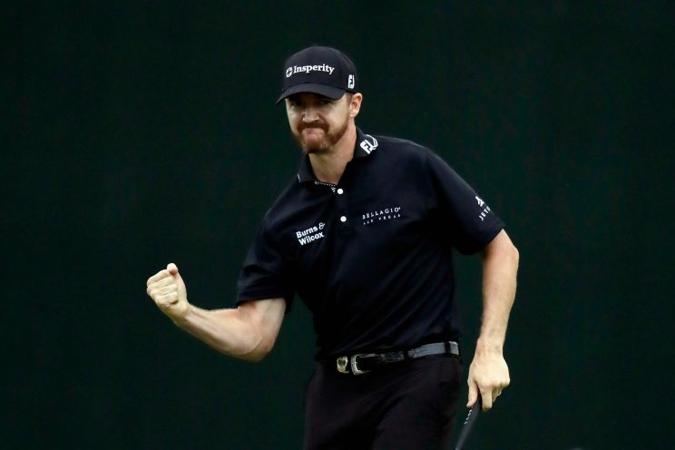 Jimmy Walker celebrates as he wins the 2016 PGA Championship. (Getty Images)
