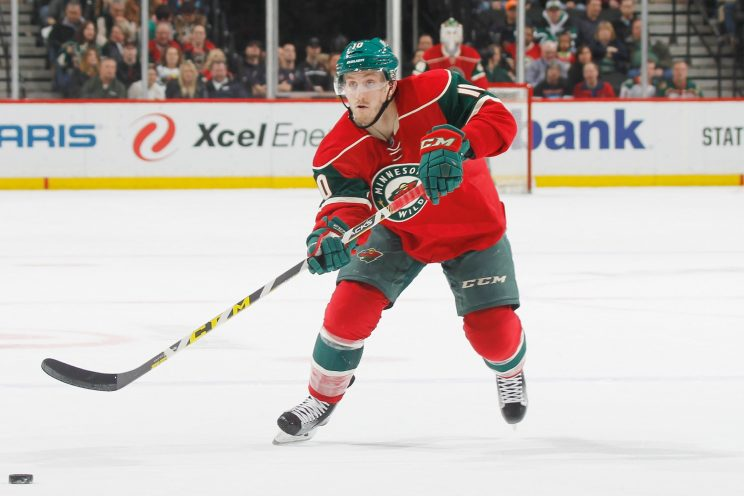 Wild try to shame Jordan Schroeder into contract surrender
