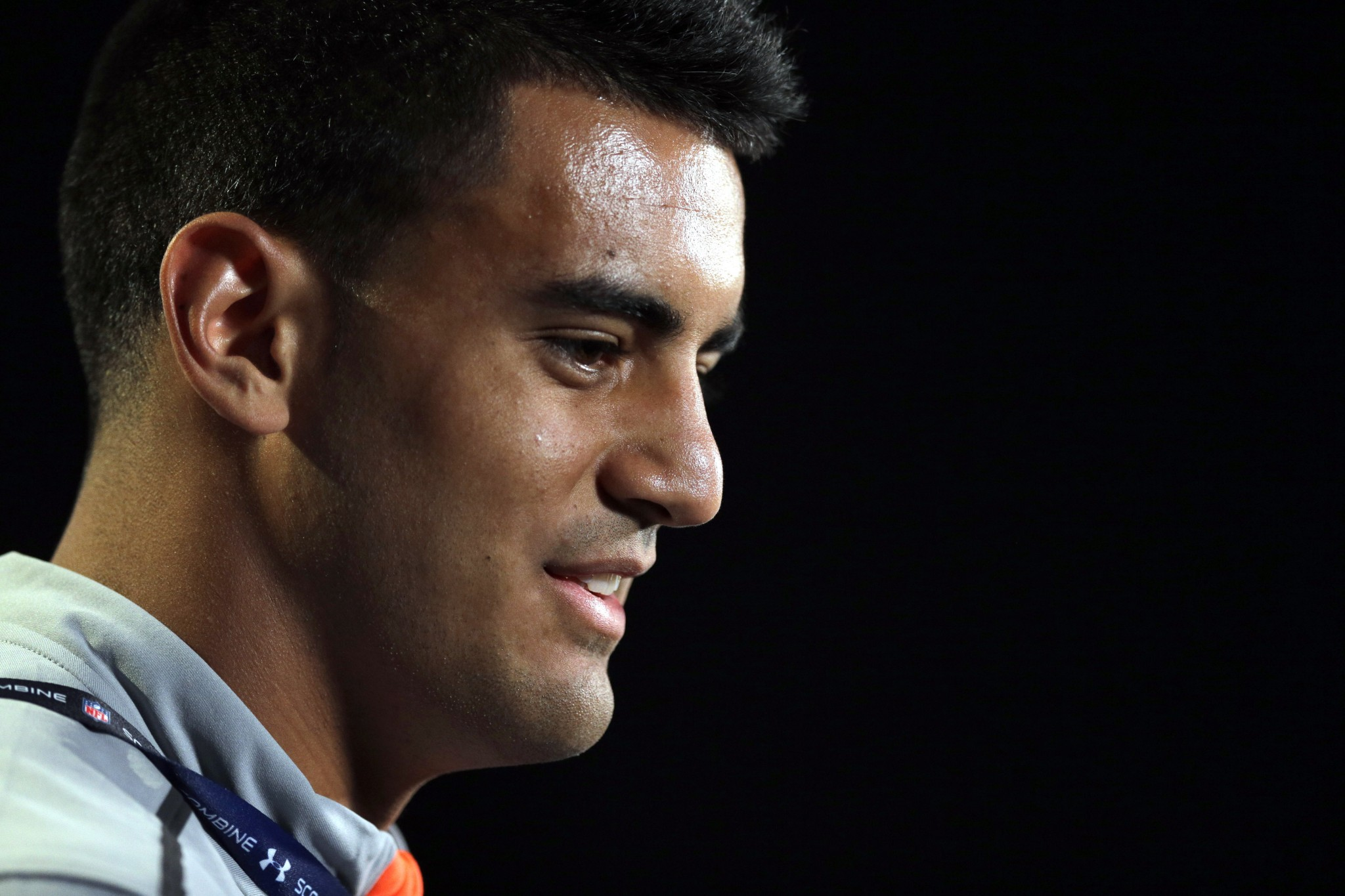 Former Oregon QB Marcus Mariota was selected second overall in the 2015 NFL Draft. (AP Photo/David J. Phillip)