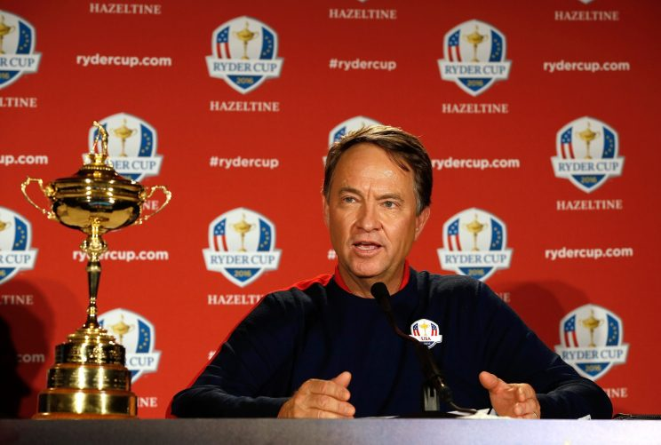 Davis Love III is rounding out his team. (Getty Images)