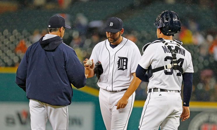 Rain halts Michael Fulmer's quest for AL ERA title