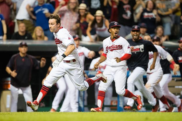 Indians complete comeback with improbable walk-off home run