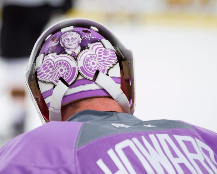 Jimmy Howard on his strong start, playing patient, honoring Dav…