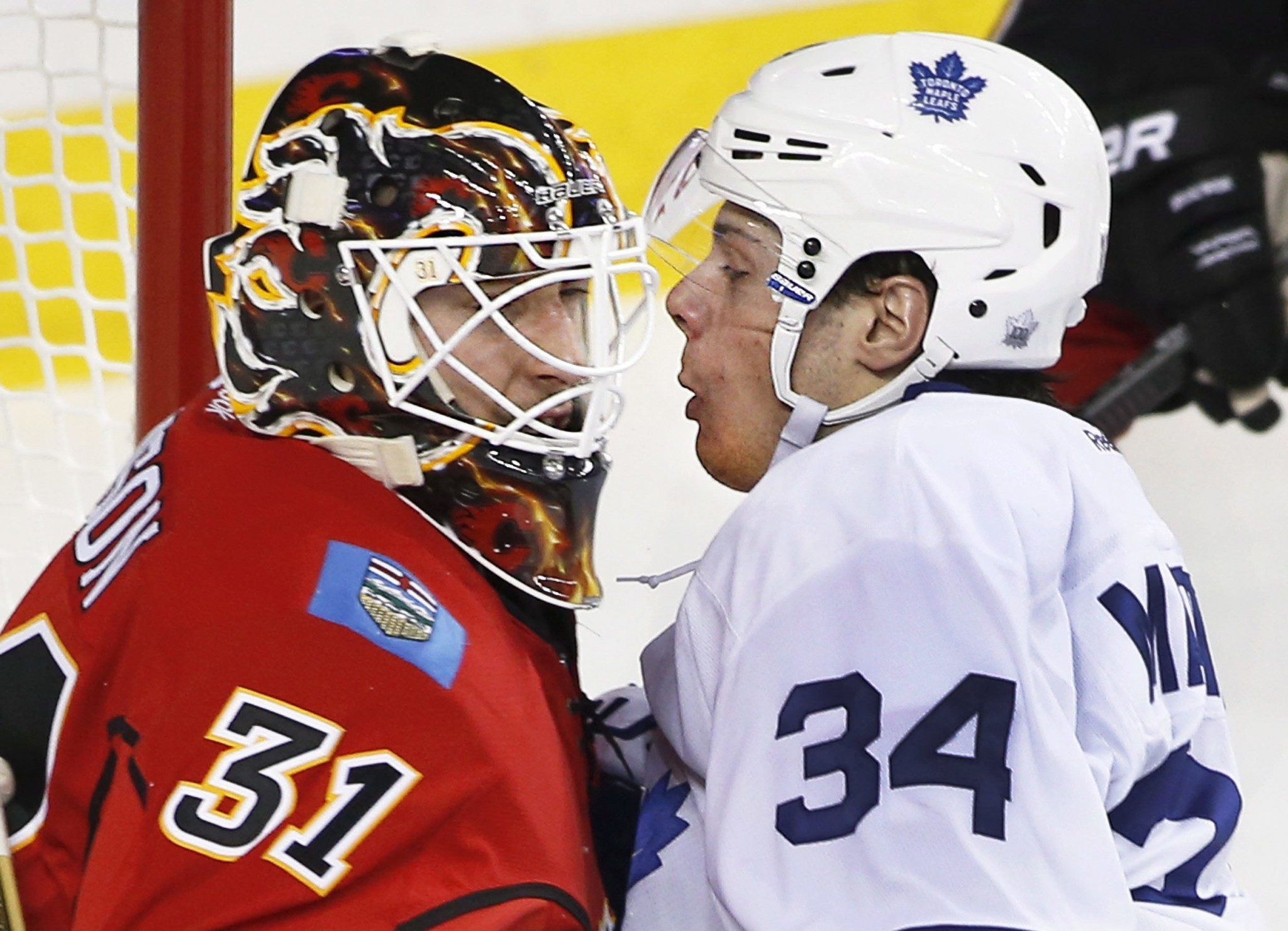 NHL Three Stars: Isles escape with win; Flames shut out Leafs
