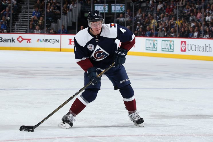 Tyson Barrie and his murky future with the Avalanche