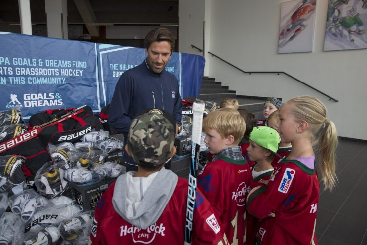 Henrik Lundqvist surprises Swedish youth hockey organization wi…
