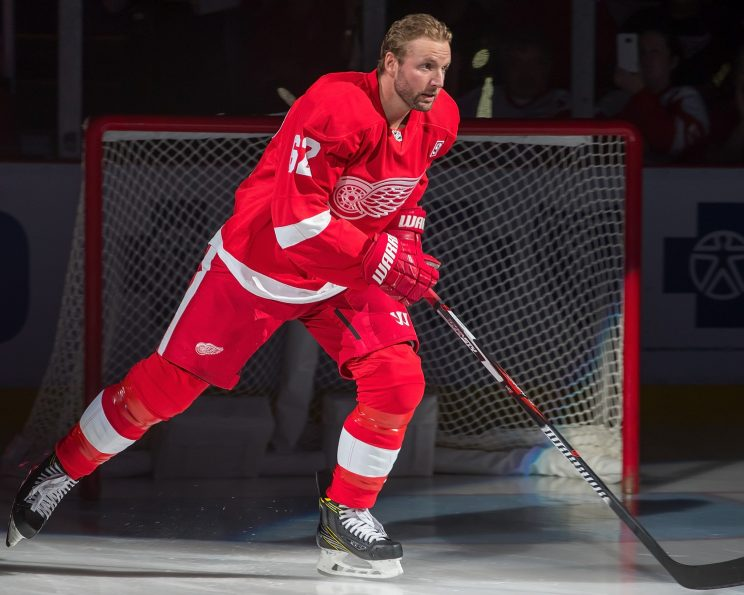 Thomas Vanek gamble paying dividends early for Red Wings