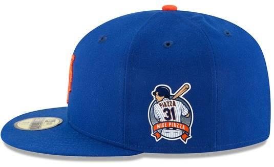 Mets will wear Mike Piazza-themed hats in weekend tribute