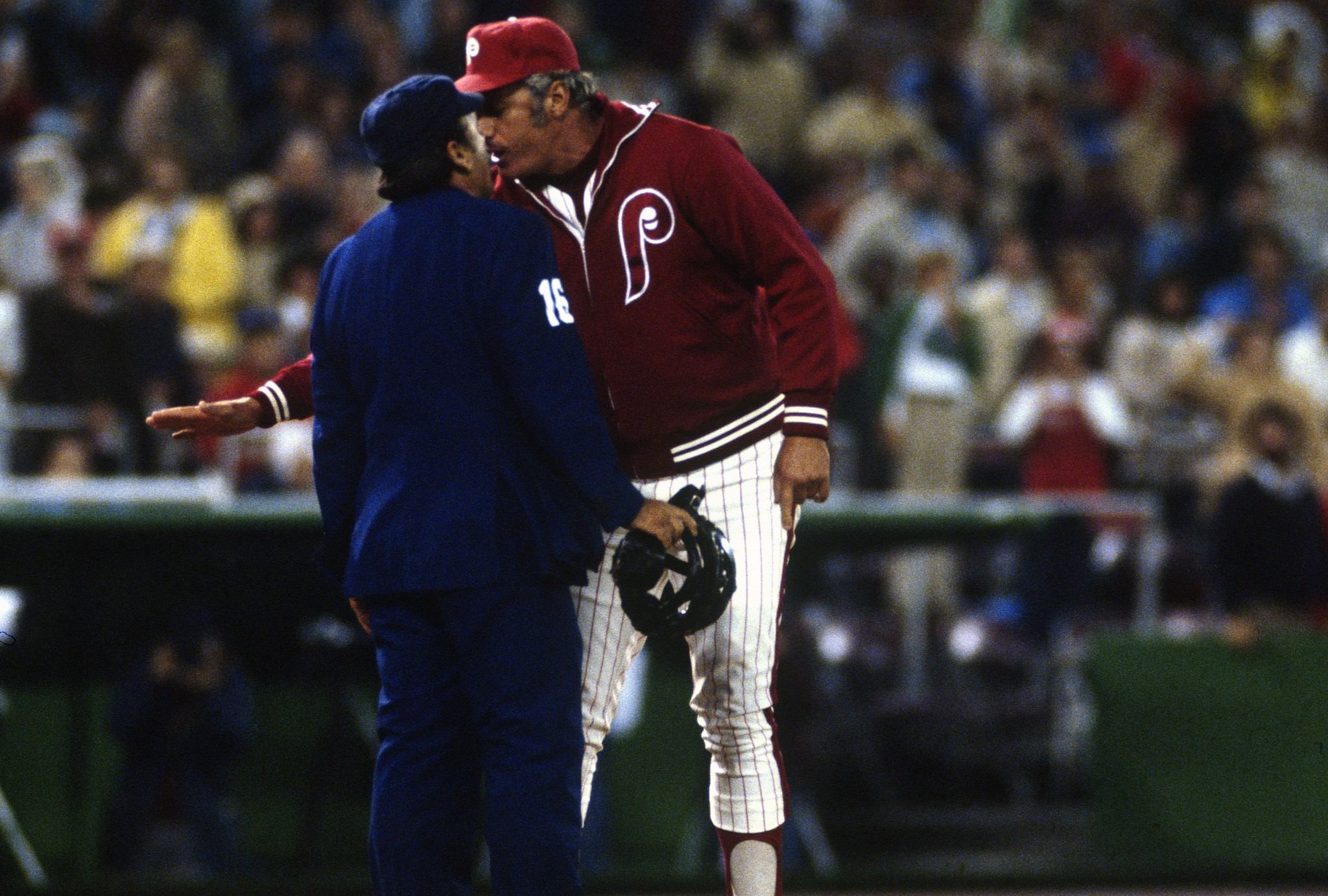 Dallas Green won a World Series with the Phillies in 1980. (Getty Images)