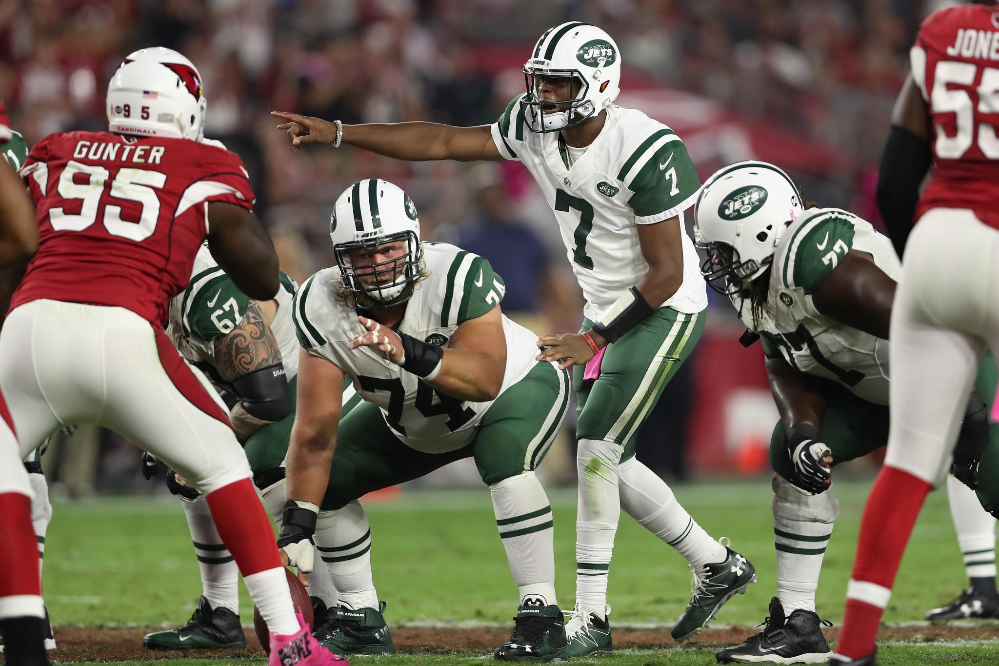Report: Jets to bench Ryan Fitzpatrick, name Geno Smith starter