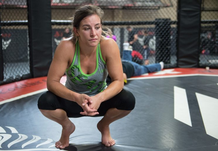UFC women&#39s bantamweight champion Miesha Tate holds an open gym day for the media at Xtreme Couture on June 27, 2016 in Las Vegas Nevada. (Photo by Brandon Magnus/Zuffa LLC/Zuffa LLC via Getty Images)