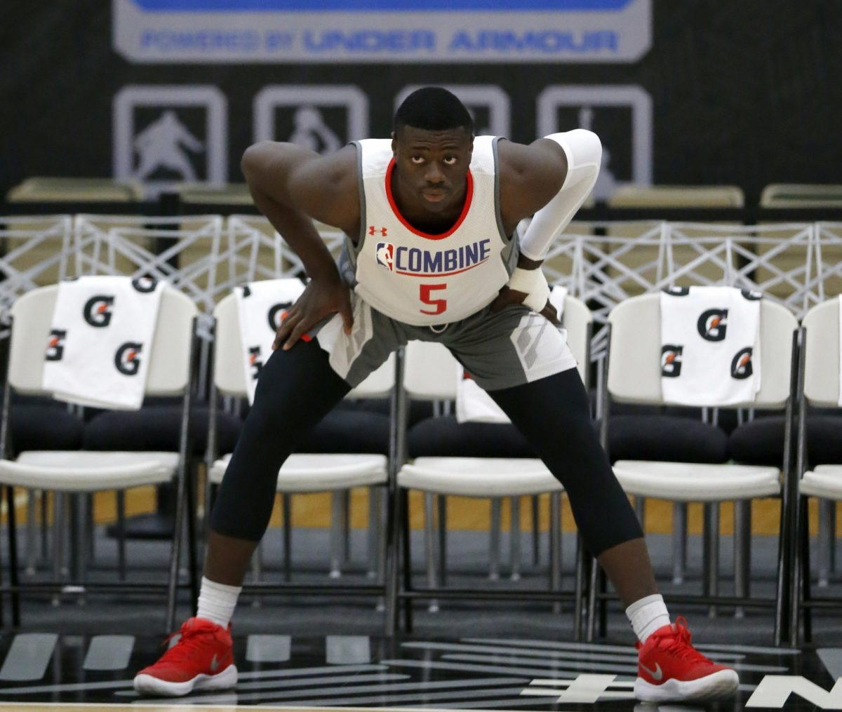 Rawle Alkins averaged 10.9 points and five rebounds for Arizona last season. (AP)