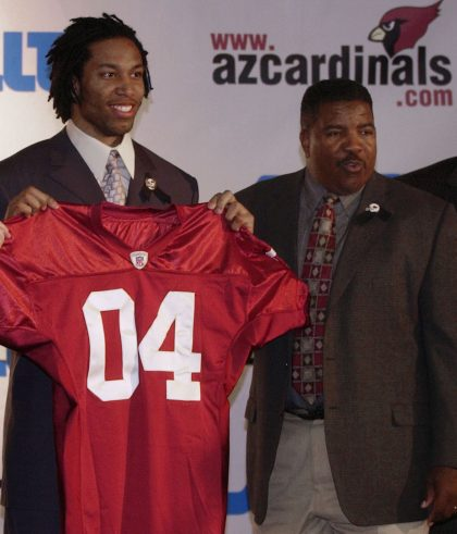 Dennis Green drafted Randy Moss and Larry Fitzgerald, coached Jerry Rice