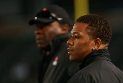 If he gets a job, Ray Rice pledges salary to domestic violence …