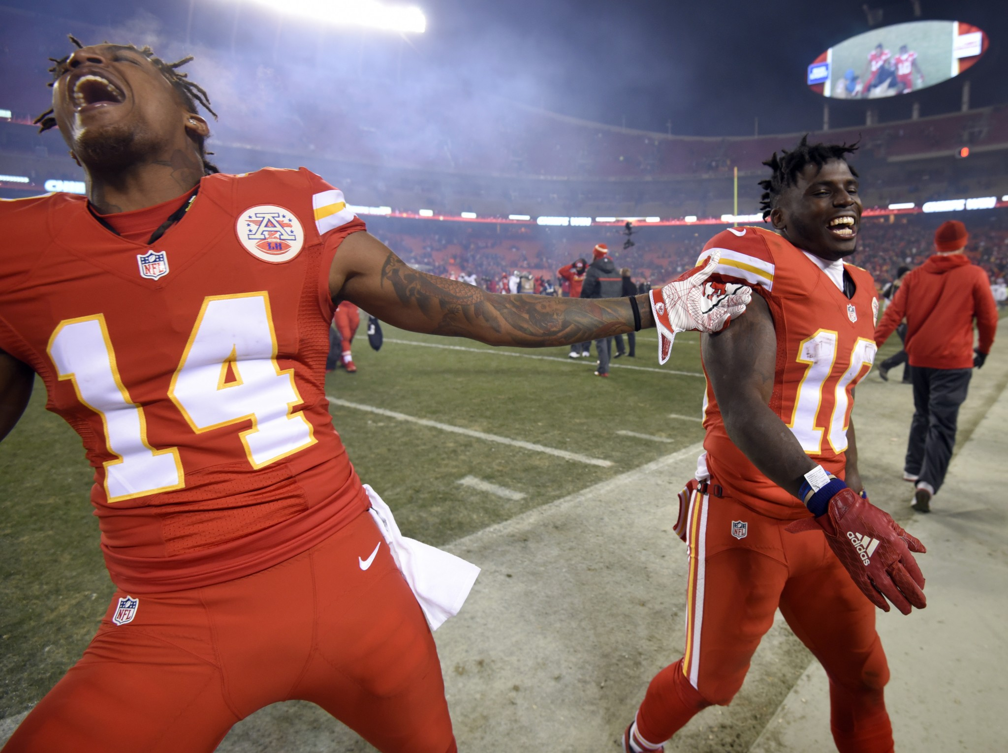 Troubled Tyreek Hill helping add Super Bowl dimension to emergi…