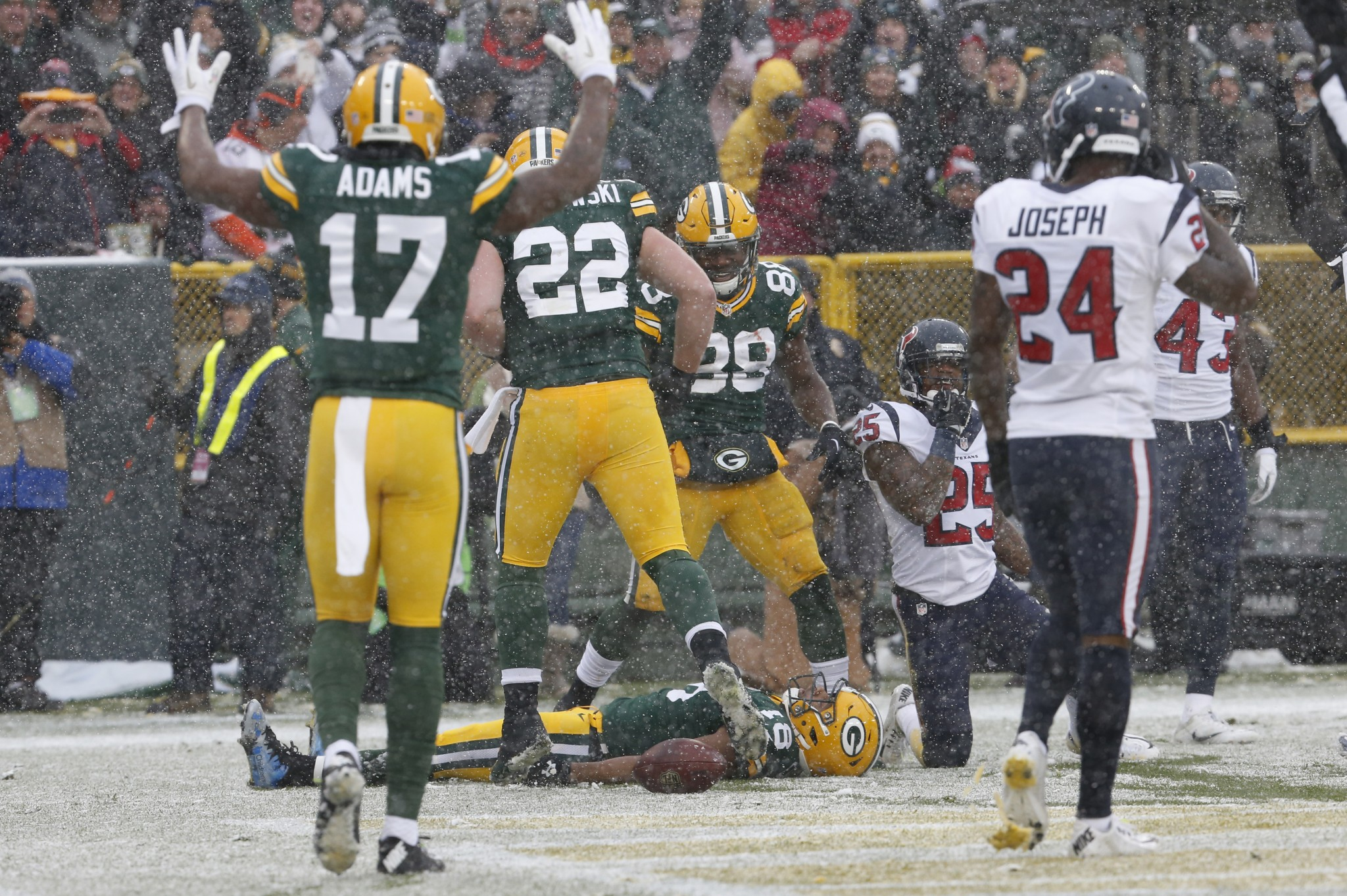 The snowy touchdown celebration that might have cost the 49ers …