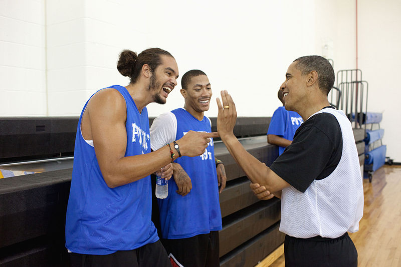 What Joakim Noah would do if he were president is seriously imp…