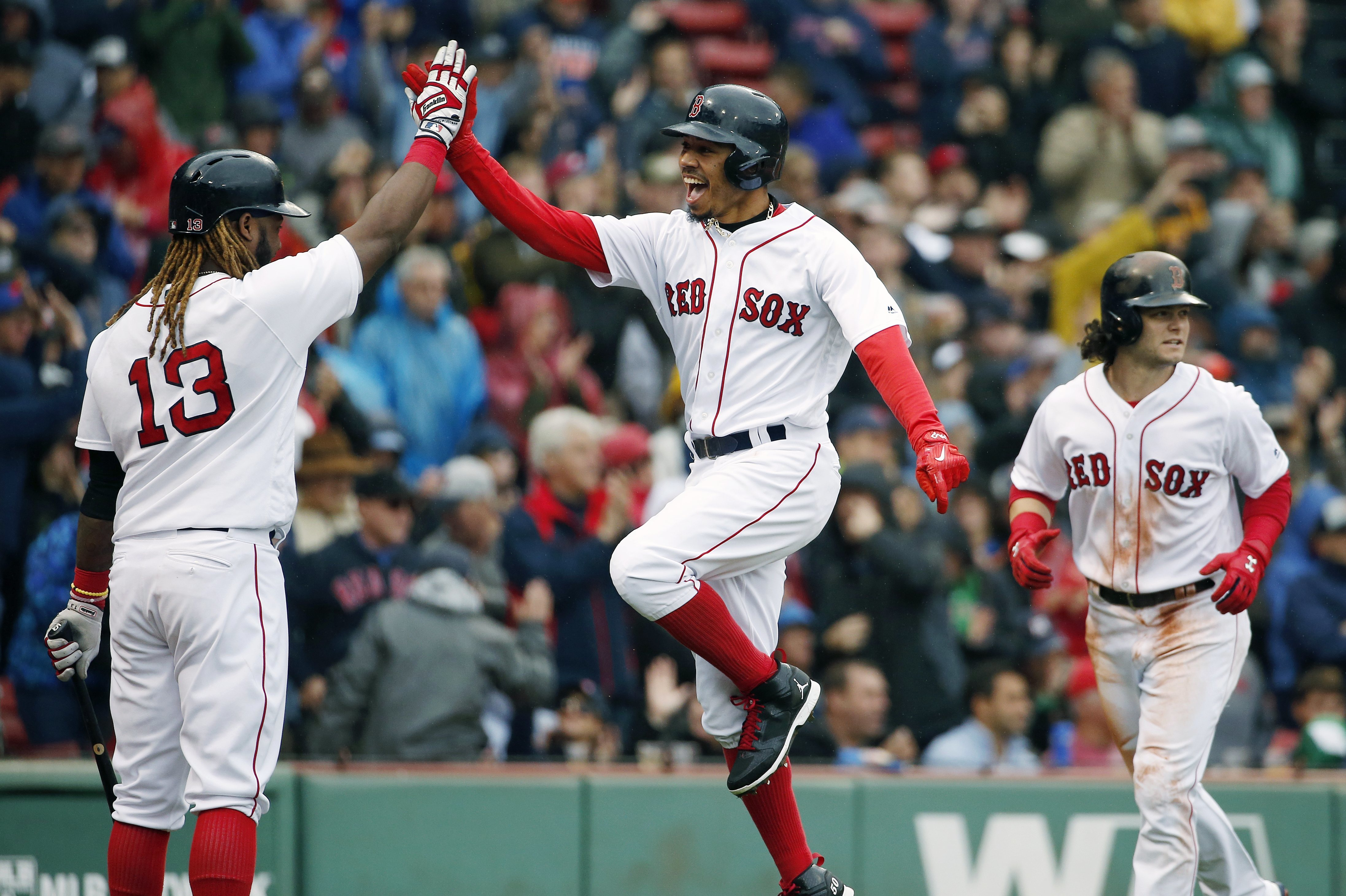 Red Sox clinch back-to-back first-place finishes for first time since 1916