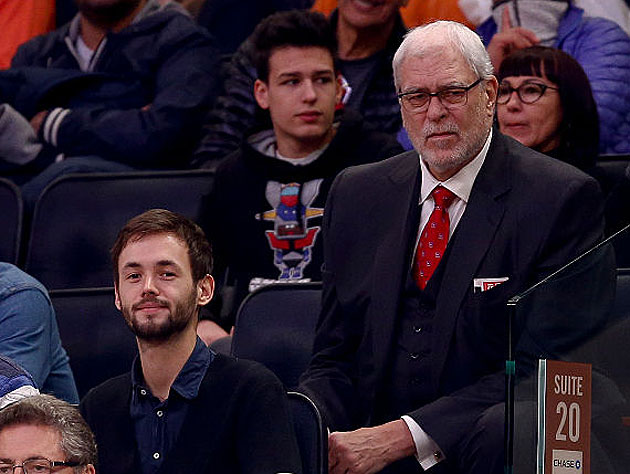 Phil Jackson watches the kids just fritter it all away. (Getty Images)