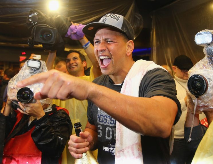 Alex Rodriguez's final game can be streamed here at Yahoo Sports. (Getty Images/Al Bello)