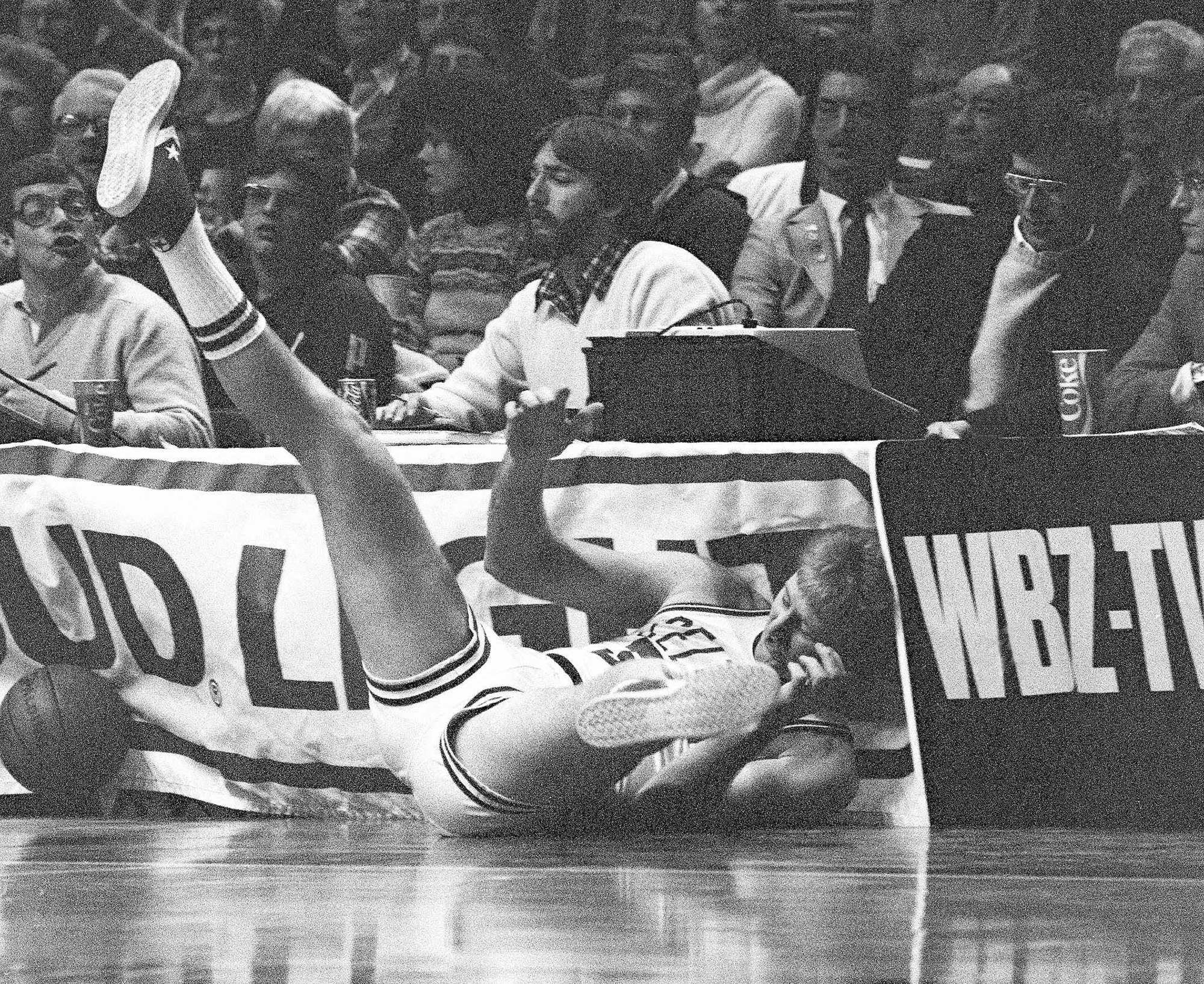 Larry Bird always knew his style of play would break his body, …