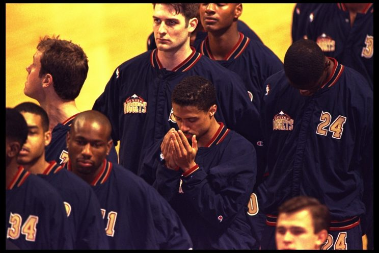 Ex-Nuggets coach recalls NBA's anthem controversy with iffy hin…