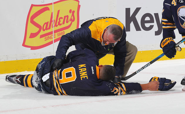Sabres' Evander Kane out 'weeks' with three cracked ribs