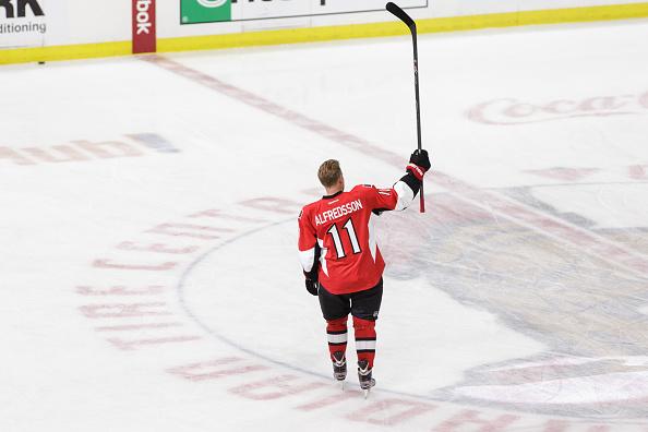 Senators will retire Alfredsson's No. 11 jersey