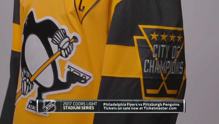 Pass or Fail: Pittsburgh Penguins' 2017 Stadium Series jersey
